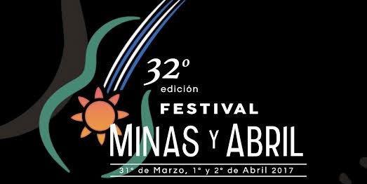 Programación del Festival Minas y Abril 2017!