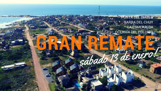 Gran remate de terrenos en Punta del Diablo, Barra del Chuy, La Esmeralda y Oceanía del Polonio!