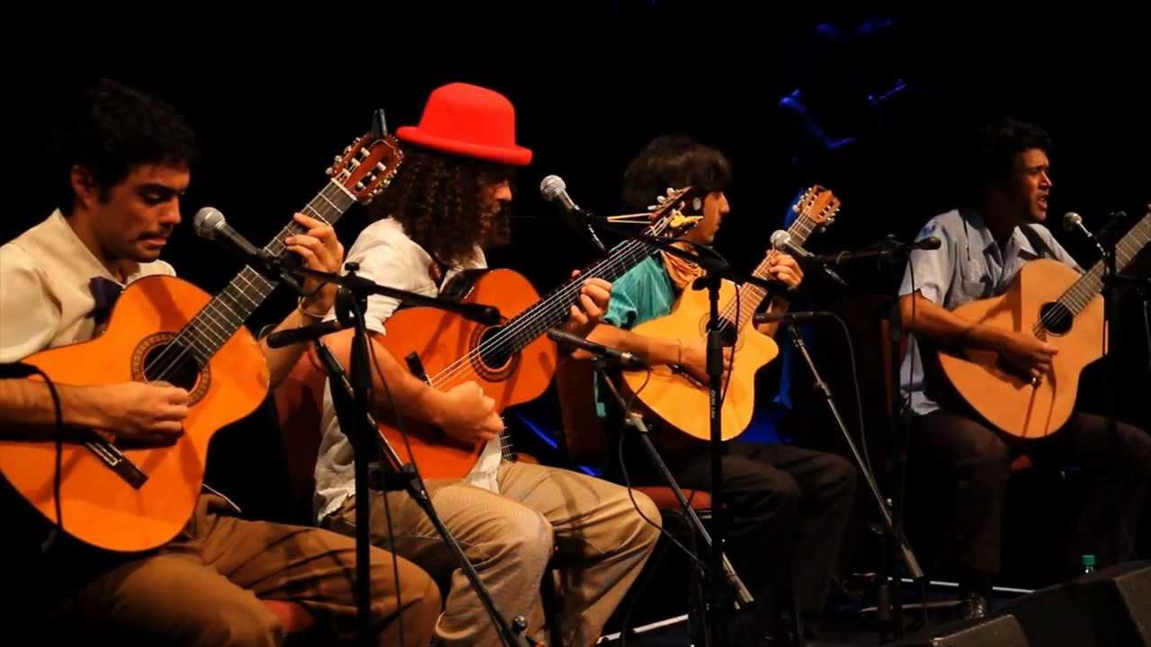 Cuarteto Ricacosa en La Coronilla