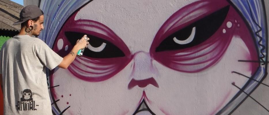 Feria, tattoo, graffiti, música en vivo en la calle!
