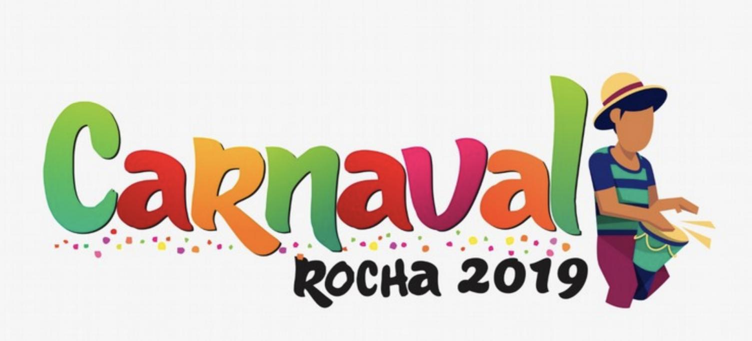Escenario de Carnaval en Barra del Chuy!